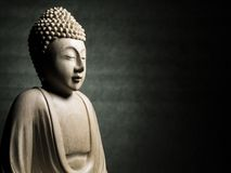 buddha skulptur Arkivbilder