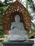 buddha skulptur arkivbild