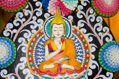 Buddha skulptur Royaltyfri Bild