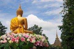 buddha skulptur Royaltyfri Foto