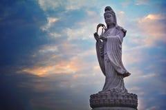 buddha skulptur Arkivfoto