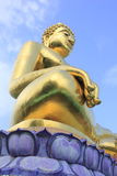 Buddha-Skulptur Lizenzfreie Stockfotos