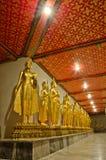 Buddha-Skulptur bei Wat PO Stockfotografie