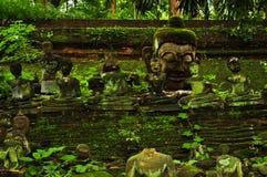buddha skulpturer Arkivfoton