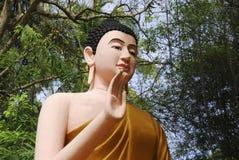 buddha skulpturtempel thailand Royaltyfri Foto