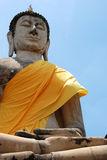 buddha sky Royaltyfri Bild