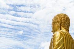 buddha sky Arkivbild