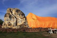 Buddha sleep statue Stock Photography