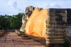 Buddha sleep statue Stock Photo