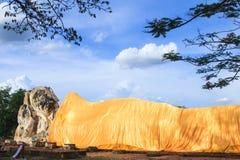 Buddha sleep statue Royalty Free Stock Photography