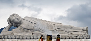 buddha sleeping Στοκ Εικόνα