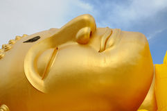 Buddha-A sleeping Buddha 01 Royalty Free Stock Image