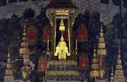 buddha smaragdstaty Arkivfoto
