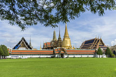 buddha smaragdtempel Royaltyfri Foto