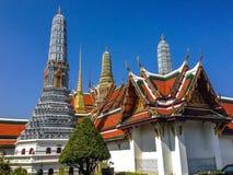 buddha smaragdtempel Arkivbild
