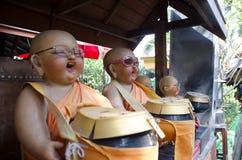 Buddha smile Stock Images