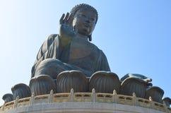 buddha solbränt tian Royaltyfria Foton