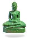 Buddha som göras av jade royaltyfri foto