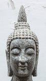 Buddha som göras av marmor i Thailand Royaltyfri Fotografi