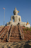 Buddha som göras av stuckaturen Arkivfoto