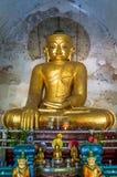Buddha som håller ögonen på över den traditionella astrologin av burma myanmar Royaltyfri Bild