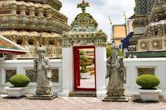 Buddha som ner ligger watpho som vilar Buddha Thailand Royaltyfria Bilder