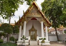 Buddha som ner ligger watpho som vilar Buddha Thailand Royaltyfri Foto