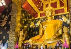 buddha som sihing Arkivfoto