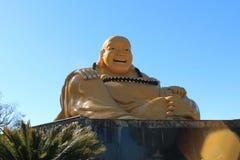 Buddha Sonriente, Chen Tien Temple för Mi-LaPu San - Foz gör Iguaçu royaltyfri foto
