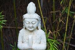 Buddha sorridente immagine stock