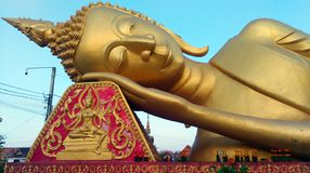 buddha sova royaltyfri bild