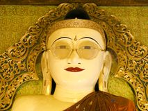 Buddha spectacles -Myanmar Royalty Free Stock Photography
