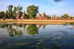 Buddha at srisatchanalai sukhothai THAI Stock Images