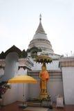 Buddha sta pacificamente Immagine Stock