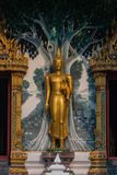Buddha stand. Beautiful buddha stand statue in Thailand temple Stock Images