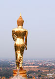 Buddha standing statue at  Wat Phra That Khao Noi, Nan, Thailand Royalty Free Stock Images