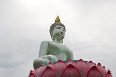buddha starej statuy świątynny biel Obrazy Stock