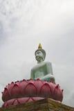 buddha starej statuy świątynny biel Zdjęcia Royalty Free