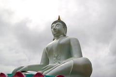 buddha starej statuy świątynny biel Obrazy Royalty Free
