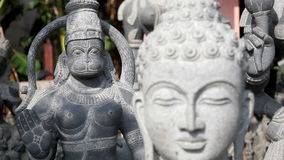 Buddha statua zbiory wideo