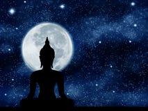 Buddha statua ilustracji
