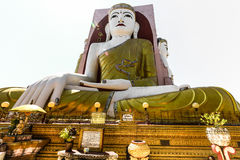 Buddha statua, Myanmar Obrazy Stock