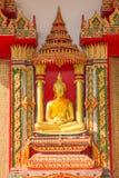 Buddha statua przy Wata zakazem Ma Zdjęcia Stock
