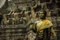 Buddha statua, Tajlandzki styl Fotografia Stock