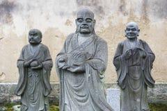 Buddha statua w arashiyama, Kyoto, Japonia zdjęcia stock