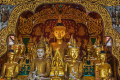 Buddha statua w Kengtung Obraz Stock