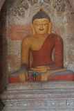 Buddha statua w Ywa Haung Gyi Obrazy Royalty Free