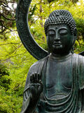Buddha statue. In a Japanese garden, San Francisco Royalty Free Stock Photos