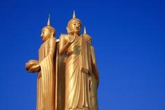Buddha Statue. On bule sky Stock Photo