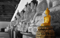 Buddha statue. Buddha is the worship of other religions Stock Photos